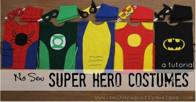 Make Your Own Superhero Costume