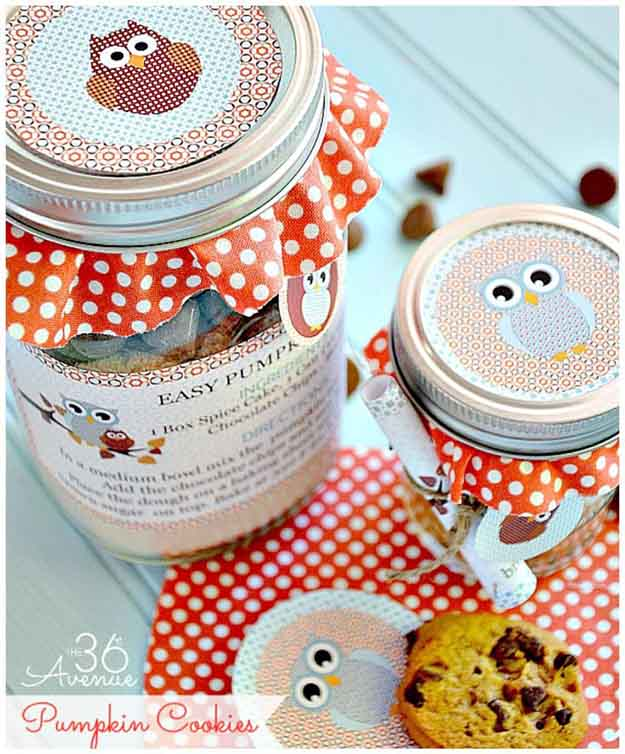 Mason Jar Cookie Recipes DIY Holiday Crafts And Gift Ideas
