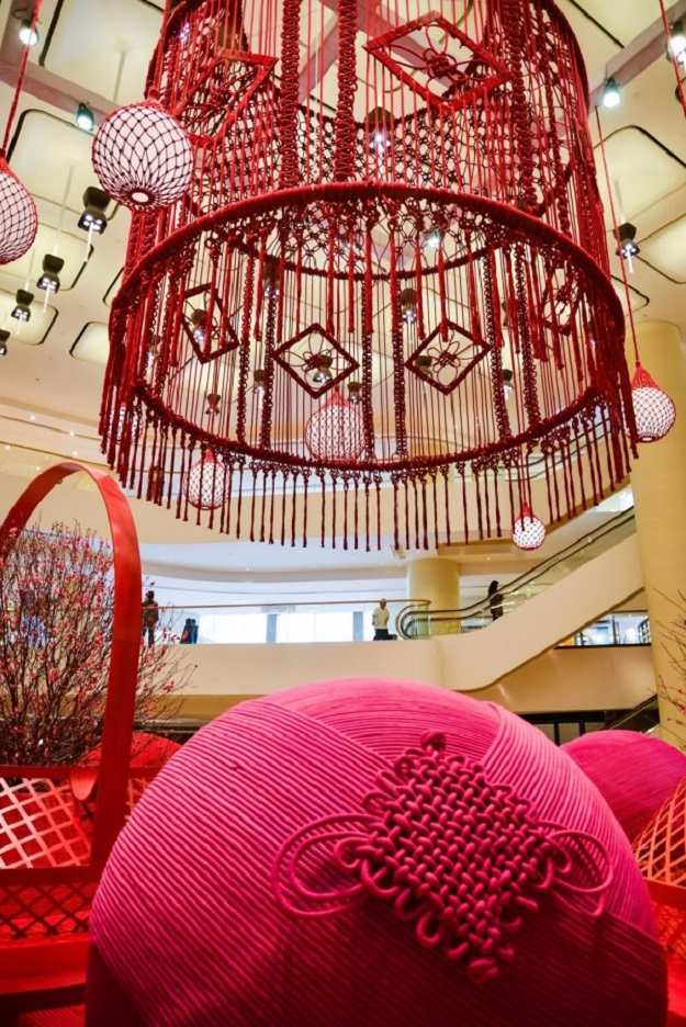 Giant Macrame Chandelier Inspiring Wall Hangings Ideas For Your Home