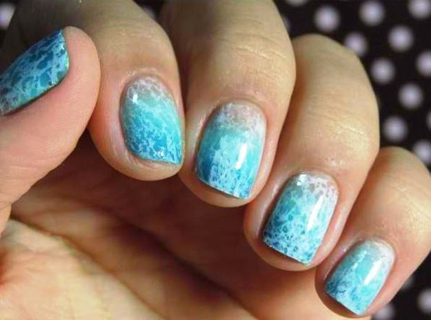 Beach Wave Nail Art Diy Party Ideas For Your Themed Celebration