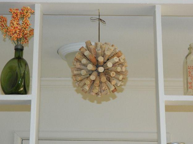 Decorative Cork Ball   Impressive Ways To Reuse Wine Corks