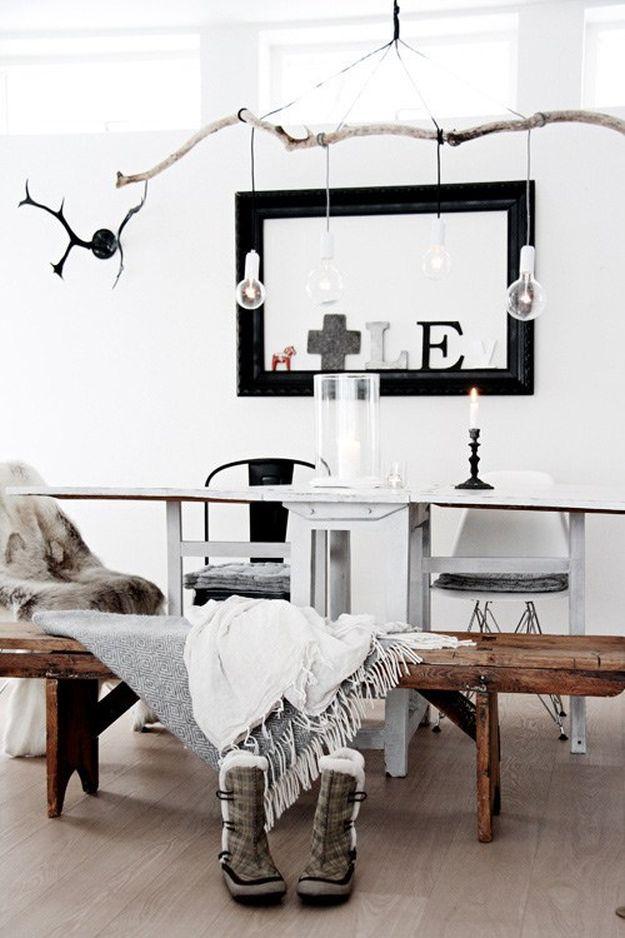 Branch Pendant Light | DIY Pendant Lighting Projects