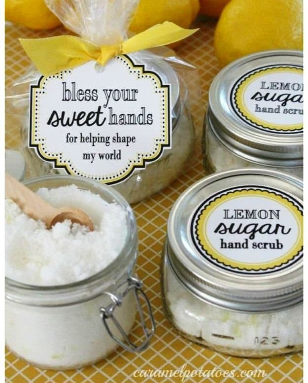 Sugar Hand Scrub | DIY Teacher Gifts To Ring In The New School Year