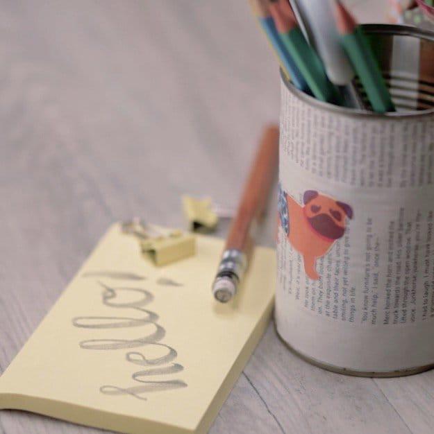 Step 10: Enjoy Your Brand New Pencil Holder! | How To Make A DIY Pencil Holder