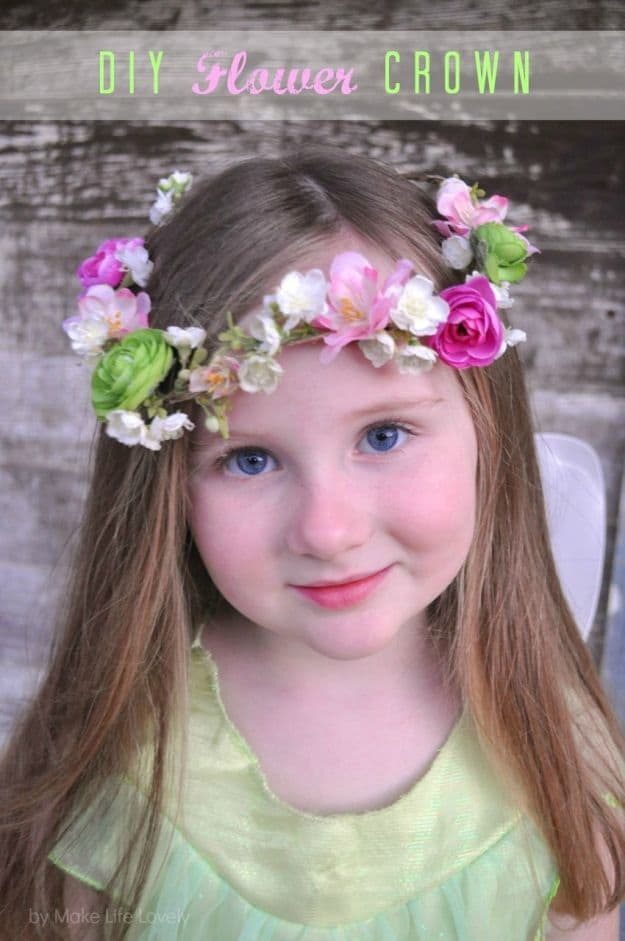 DIY Flower Crown | Simple DIY Crafts For Kids