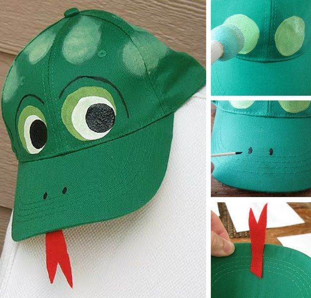 Frog Baseball Hat | Simple DIY Crafts For Kids