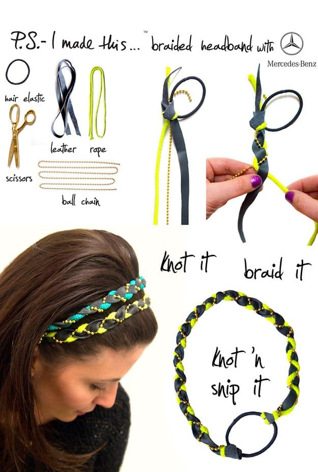 Braided Headband | Easy Crafts To Make And Sell