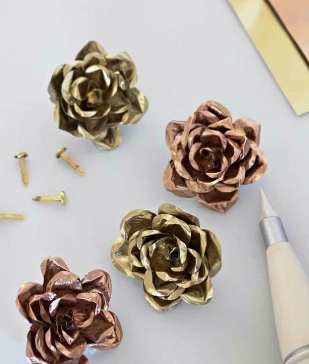 Metal Roses | Easy Crafts To Make And Sell