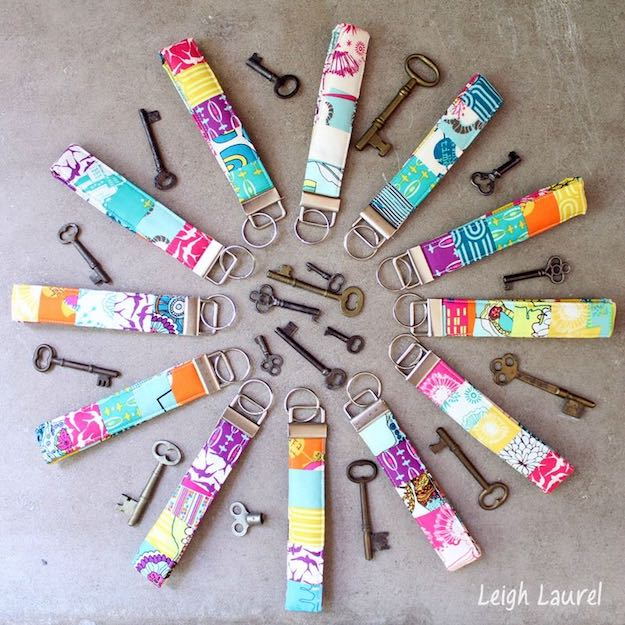 Scrappy Key Fobs | Easy Crafts To Make And Sell
