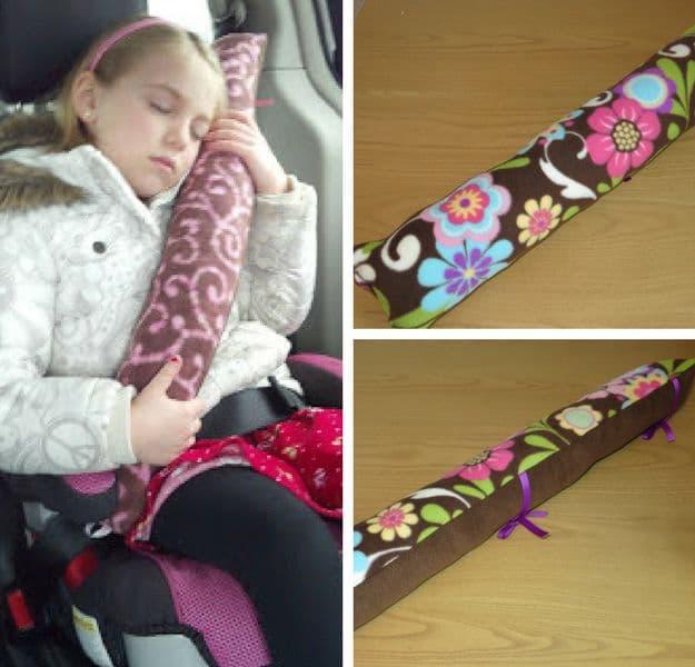 Seat Belt Pillows | Easy Crafts To Make And Sell