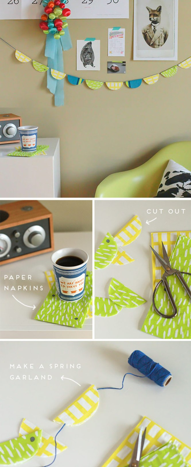 Cute Diy Room Decor Ideas For S Bedroom Projects Agers Paper Napkin