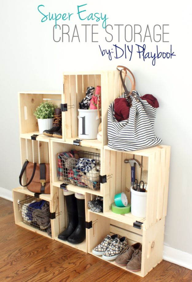 Small Storage Diy Ideas Bedroom