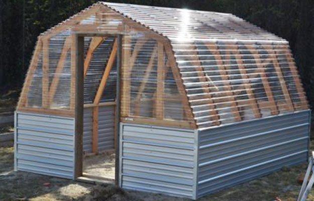 7 DIY Greenhouses DIY Ready