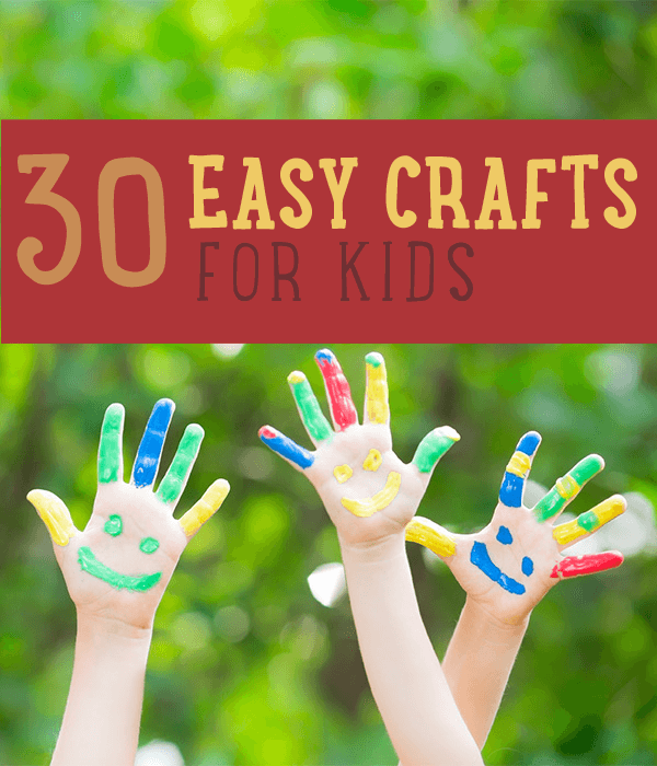 easy projects for kids to make