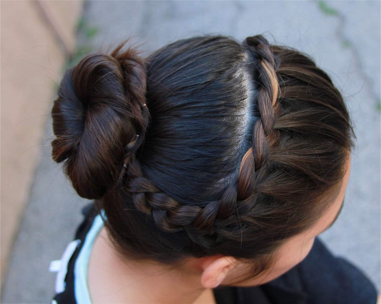 Easy Buns And Braided Hairstyles