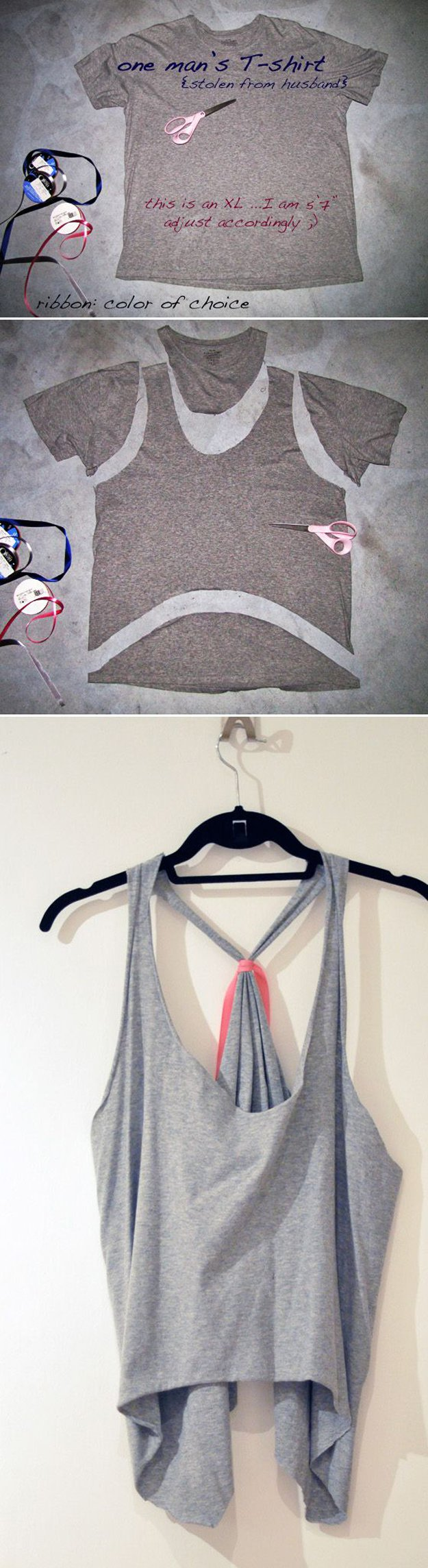 Easy Cut Out Tops for Women | diyready.com/diy-clothes-sewing-blouses-tutorial/