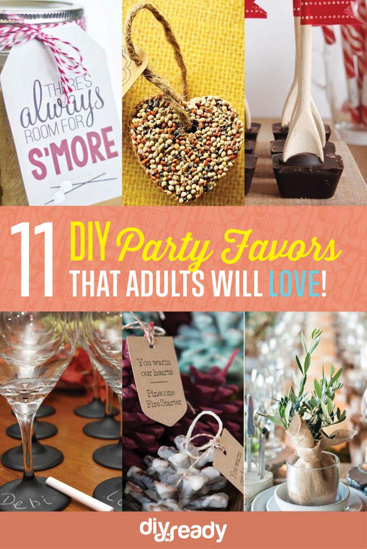11 DIY Party Favor Ideas DIY Ready