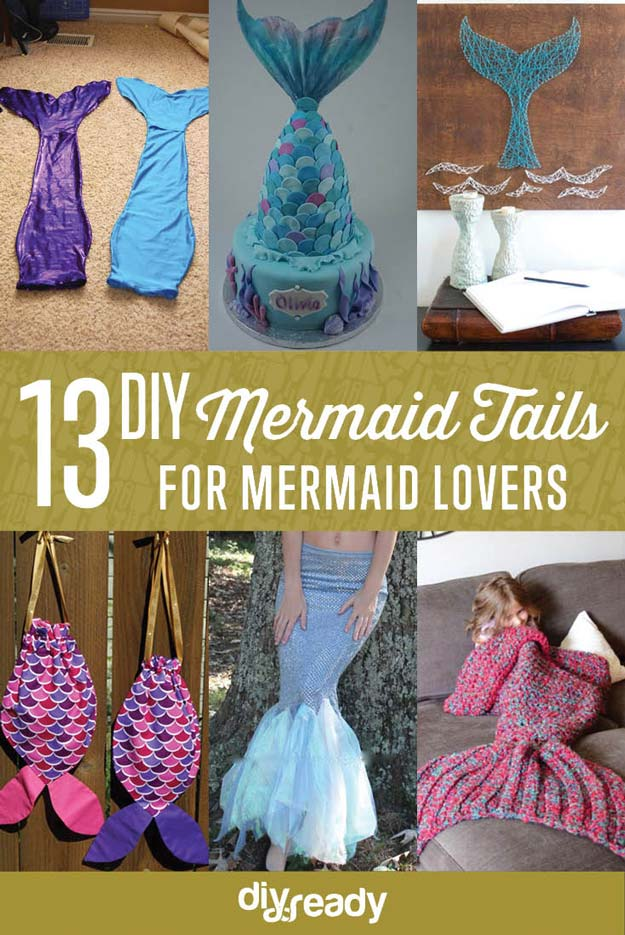 DIY Mermaid Tails You Can Wear DIY Ready
