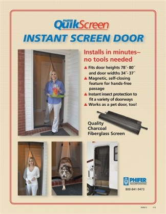 Phifer Magnetic Door QuickScreen