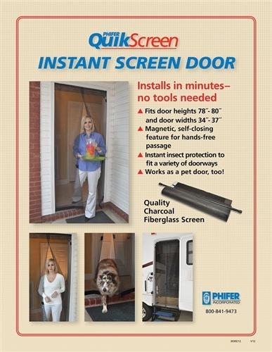 Phifer Magnetic Door QuickScreen