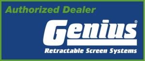 Custom Double Panel Retractable Screen Door Kit