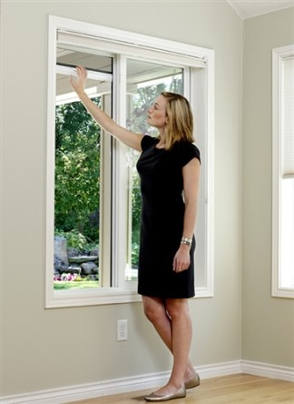 Custom Retractable Window Screen with BetterVue