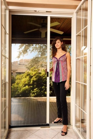Pleated Single Panel Retractable Door Kit