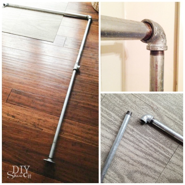 Diy Freestanding Mobile Pipe Coat Rackdiy Show Off ™ – Diy | Diy Galvanized Pipe Handrail | Entrance | Abs Pipe | Curved Steel Pipe | Repurposed | Simple Pipe