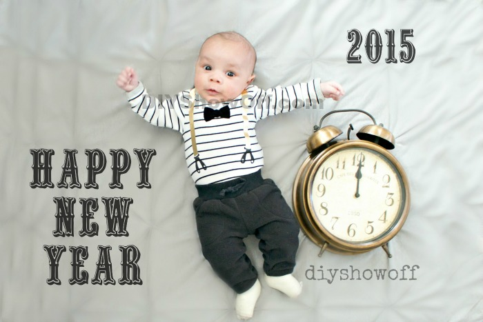 Happy New Year   DIY Show Off          DIY Decorating and Home     New Year s Baby  diyshowoff