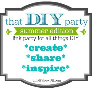 That DIY Party summer link party button