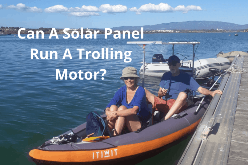 The Solar Powered Trolling Motor How