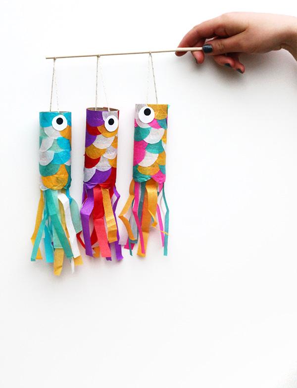 DIY Mini Koinobori