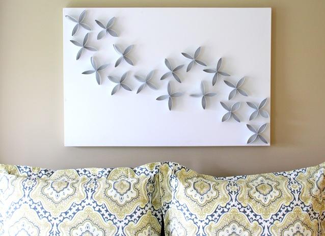 DIY TP Rulo Duvar Sanatı