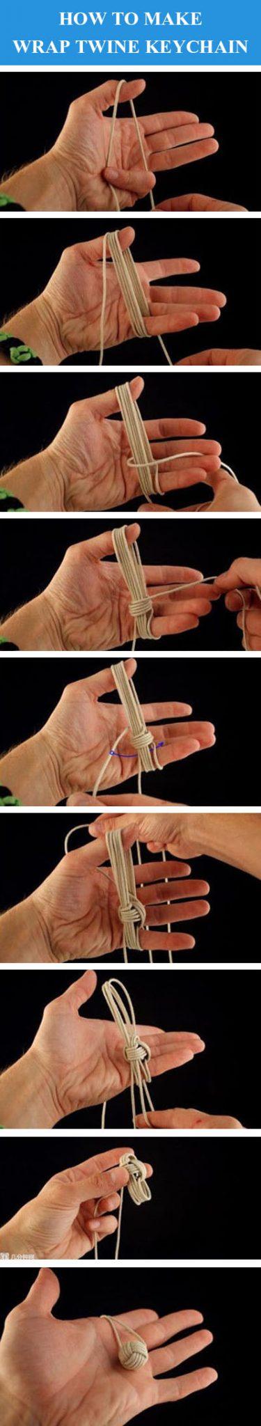 DIY Wrap Sicim Anahtarlık