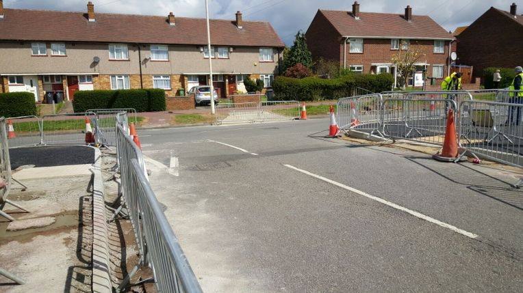 Padnall Rd Rose Lane build outs