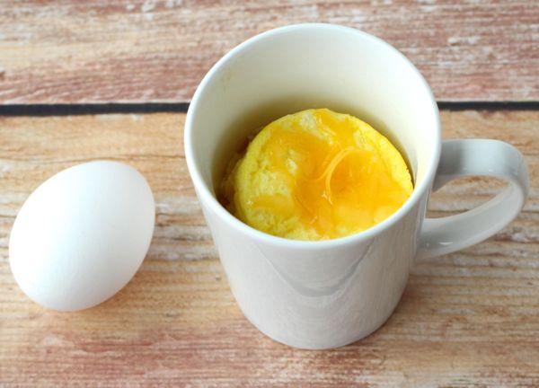 Microwavable Scrambled Eggs Recipe