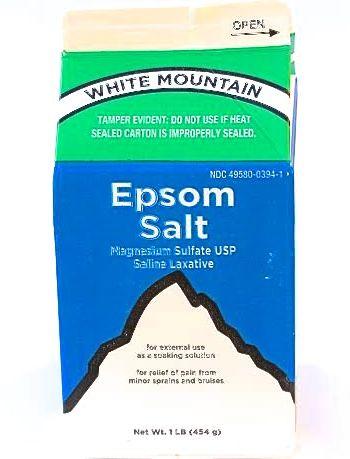 Epsom Salt 1