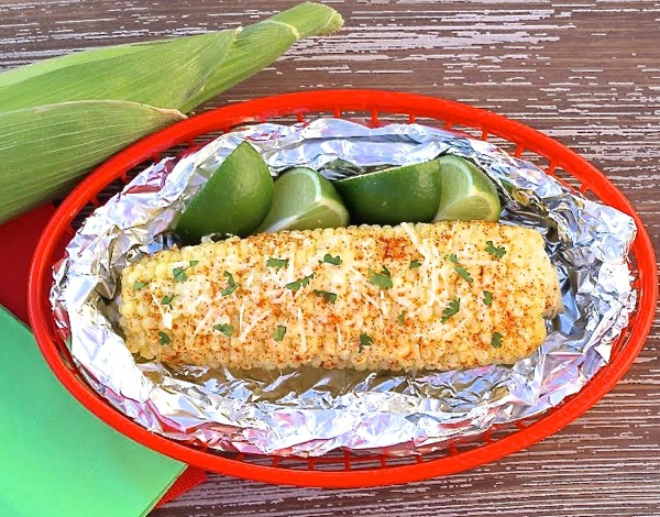 Grilled Mexican Style Corn