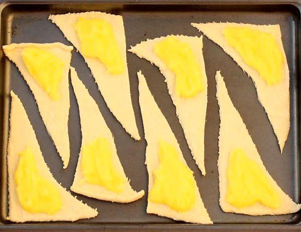 Lemon Crescent Roll