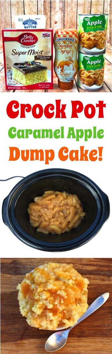 Caramel Apple Dump Cake Pic