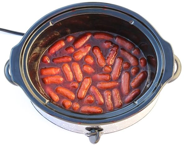 Crockpot Coke BBQ Smokies