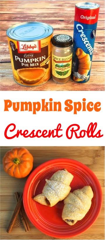 pumpkin-spice-crescent-roll