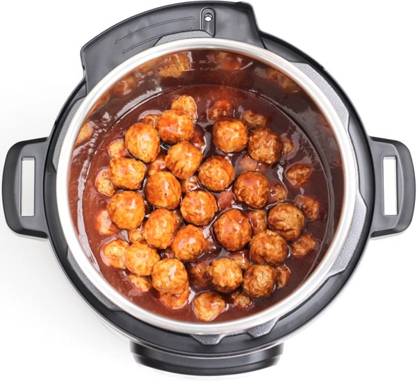 Meatballs in Electric Pressure Cooker