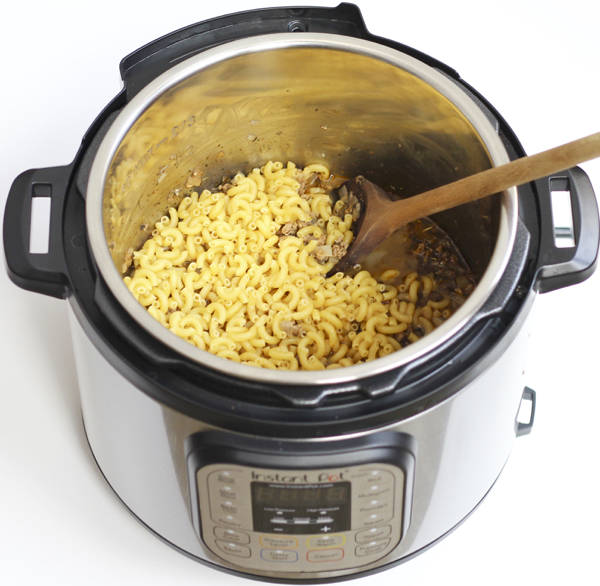Beef Goulash Instant Pot