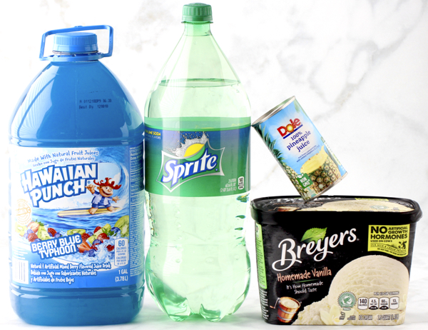 Blue Punch Recipe With Sprite