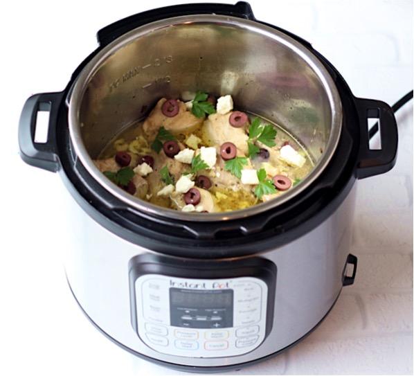 Instant Pot Greek Chicken