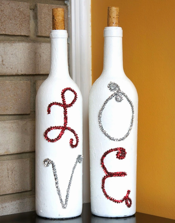 10 Creative Ideas For Interior Decorating With Wine Bottles