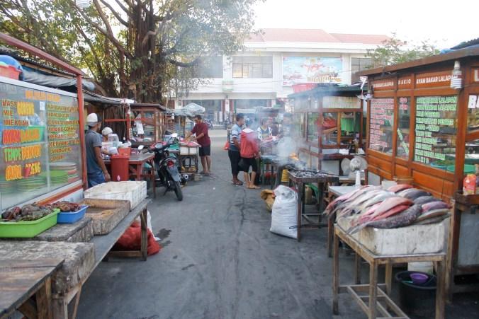 Seafood Night Market at Kupang