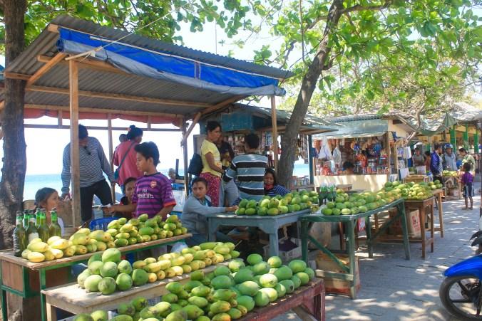 Mangoes Kupang Beach Stalls