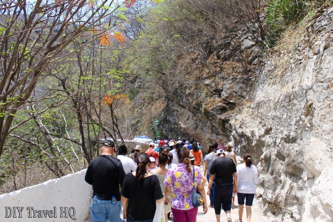 Tour Group of Cacahuamilpa Caves